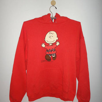 Vintage Charles Brown Schulz Peanuts Snoopy United Feature Syndicate Sweater sweatshirt Hoodie Unisex 50/50 1950
