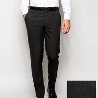 ASOS | ASOS Skinny Smart Pants in Charcoal at ASOS