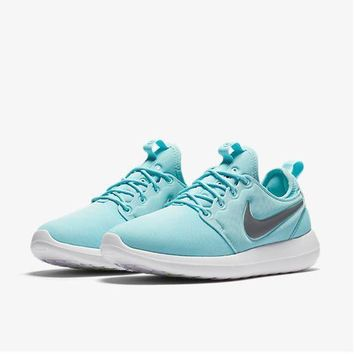 PEAP2Q nike roshe two run 2 women running shoes color sky blue