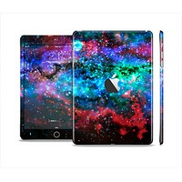 The Neon Colored Paint Universe Full Body Skin Set for the Apple iPad Mini 2