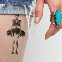 Tiny Dancer - Temporary Tattoo (Set of 2)