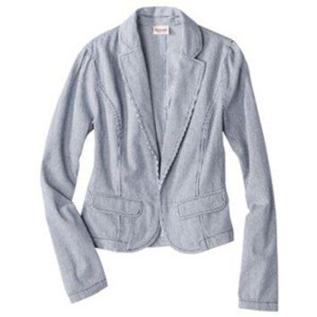 Mossimo Supply Co. Juniors Denim Blazer - Assorted Colors