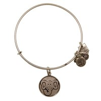 Alex and Ani The Elephant Charm Bangle - Russian Silver
