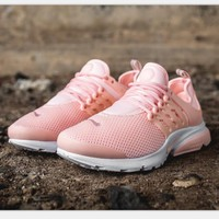 """NIKE""Air Presto Women Men Fashion Running Sport Casual Shoes Sneakers Pink H-AA-SDDSL-KHZHXMKH"
