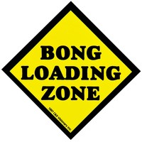 Bong Loading Zone - Decal
