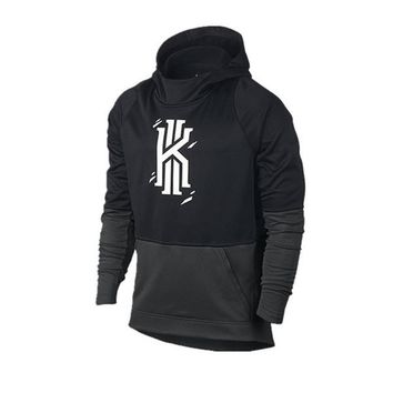 2017 New Fashion Kyrie Irving Hoodie Men Sweatshirt Kyrie Irving Cool Black Pullover Hoodies Men Sweatshirts Tracksuit Men Drop Shipping