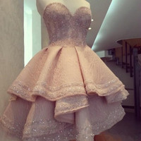 Homecoming Dress, Lace Homecoming Dresses
