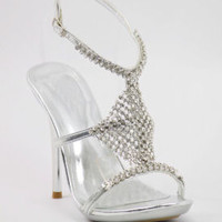 Formal Prom Shoes, Rhinestone Shoes, Prom Heels, Promshoe -500 - 15