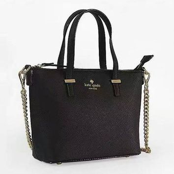KATE SPADE Classic Fashion Women Shopping Bag Leather Metal Chain Handbag Shoulder Bag Crossbody Satchel 5#
