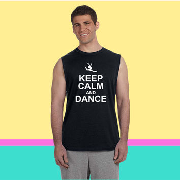 keep calm and dance Sleeveless T-shirt