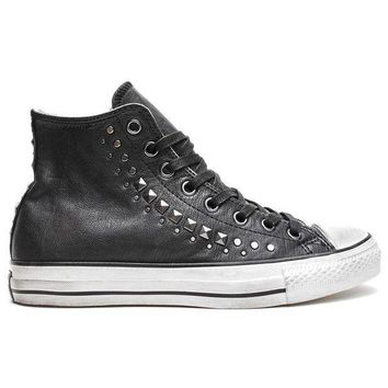 CREYON converse by john varvatos chuck taylor all star high studded black  gunmetal 03217029d879