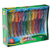 Crayola Color Your Mouth Candy Canes: 12-Piece Box