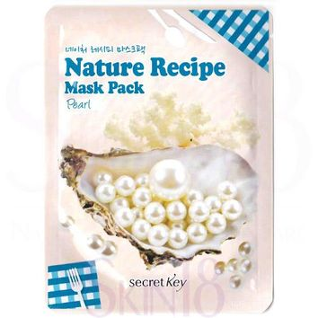 Secret Key Nature Recipe Pearl Mask Pack  (exp.date 01/20)