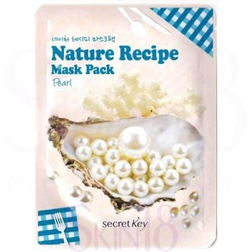 Secret Key Nature Recipe Pearl Mask Pack