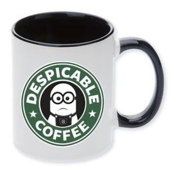 Mug,Cup,Starbucks,Minion,Coffee,Despicable,I love coffee,Starbucks Minion,gift