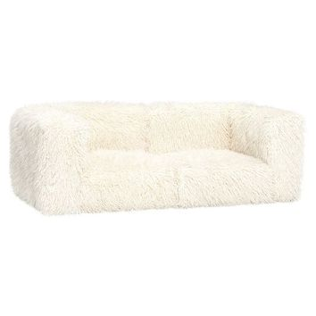 Cushy Lounge Love Seat Set + Base
