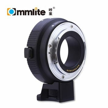 Commlite CM - EF - EOSM Electronic Aperture Control Lens Mount Adapter Ring for Canon EF Lens to EOS M1 M2 M3 EF-M Mount Camera
