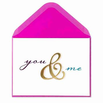 You & Me with Foil