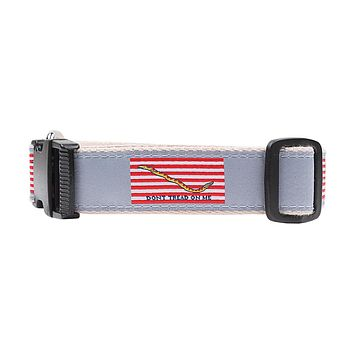 Progression of Freedom Ribbon Dog Collar by Over Under Clothing