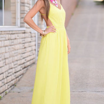 In The Lime Light Maxi, Lime