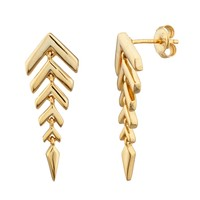 Fishtail Dangle Earring