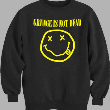 nirvana grunge is not Sweater for Mens Sweater and Womens Sweater *