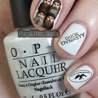 Duck Dynasty Nail Decals