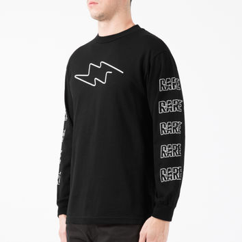 Rare Panther Black Neon Bolt L/S T-Shirt | HYPEBEAST Store.