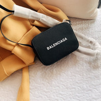 Balenciaga Leather Mini Everyday Camera Bag