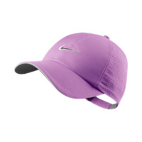 Nike Perforated Women's Golf Hat - Red Violet