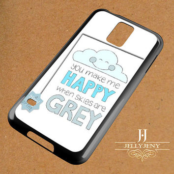 You Are My Sunshine Coloring Grey Samsung Galaxy S3 S4 S5 S6 S6 Edge Case | Galaxy Note 3 4 Case