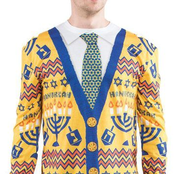 Ugly Hanukkah Sweater Large Costume
