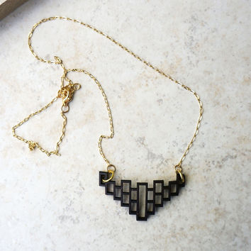Modern Geometric Necklace