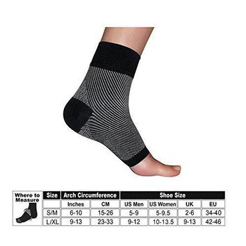 BE (1) one Pair Unisex Men Women Toeless Plantar Fasciitis Compression Socks Heal Foot Pain Ankle & Arch Support Swelling or soreness