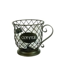 Boston Warehouse Kup Keepers Holder Coffee Cup and Diamond Design for Coffee and Espresso Pod Storage