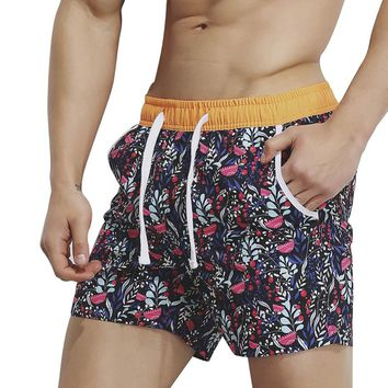 Summer Board Shorts Beach Swim Shorts 2018 Printed Man Berduda Surf Boardshort Swimming Shorts for Men Sea Beachwear Short Wear