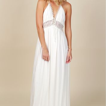 During A Dream Detailed Maxi White