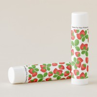 Red Strawberry Lip Balm