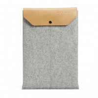 MacBook Pro sleeve grey/tan | Graf & Lantz