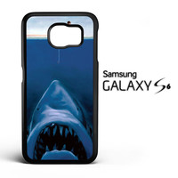Funny Fishing Shark F0472 Samsung Galaxy S6 Case