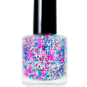 Space Candy- Handmade Nail Polish Full Bottle