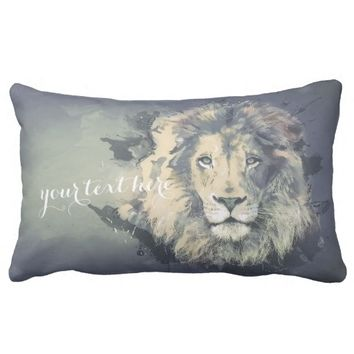 COSMIC LION KING | Grade A Throw Pillow Lumbar