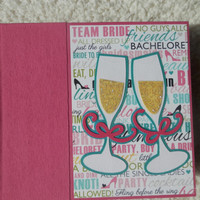 6x6 Bachelorette Party Scrapbook Photo Album