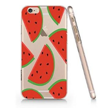 Watermelon Pattern Iphone 6 case, Iphone 6 Case Slim White Cover Skin (4.7'' Screen)- Quindyshop (AM430)