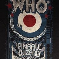 "NEW! The Who ""Pinball Wizard 1969"" Classic Rock Band Liquid Blue Adult T-Shirt"
