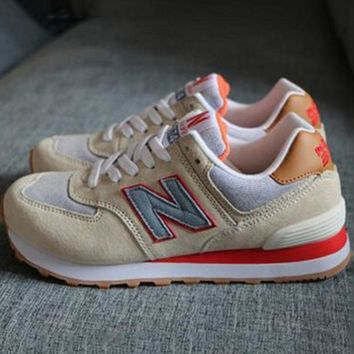 New balance abric is breathable n leisure sports Couples forrest gump running Army green