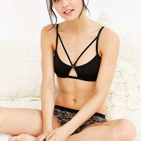 Silence + Noise Front O-Ring Strappy Bralette - Urban Outfitters