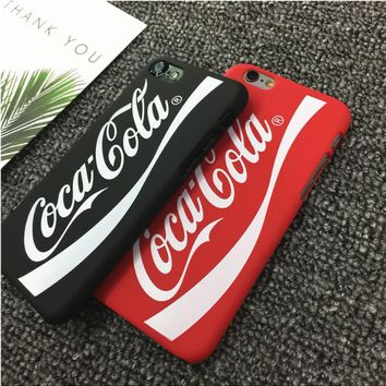 Coca Cola dustproof Mirror Phone Case For iPhone 7 7Plus 6 6s Plus 5 5s SE
