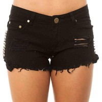 Reverse Women's Double Side Stud Shorts