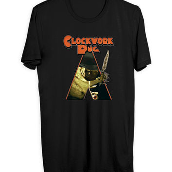 A Clockwork Pug Mens T Shirt